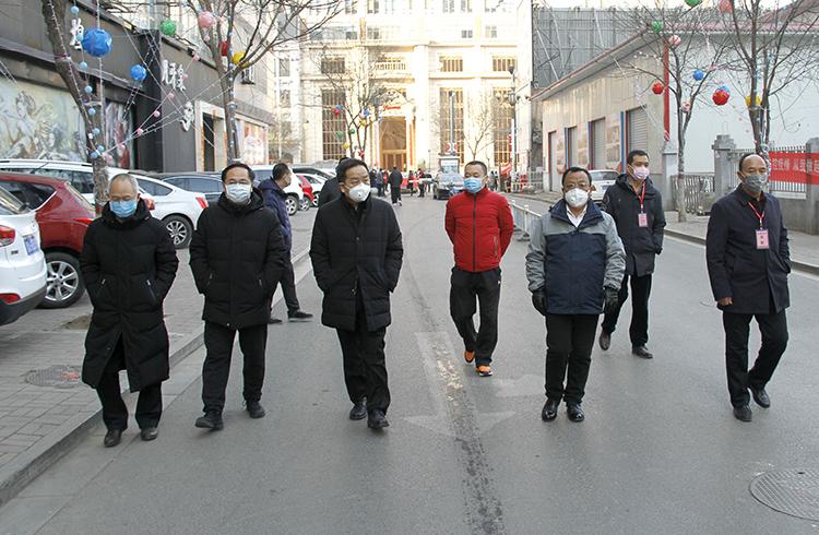 省水利厅厅长陈耳东到山西贝博检查疫情防控工作