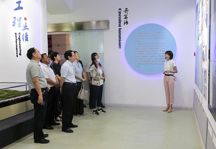 万家寨水务控股集团副总经理李俊刚到山西雷火电竞网址调研